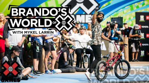 MYKEL LARRIN: Stay True To The Craft | X GAMES PODCAST | X Games