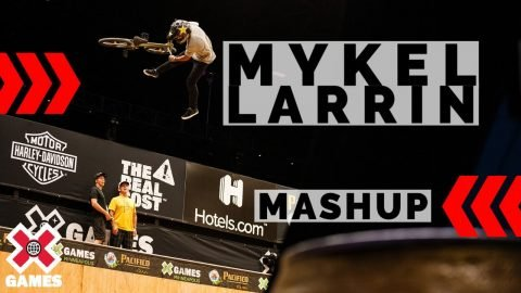 Mykel Larrin: X GAMES THROWBACK | World of X Games | X Games