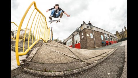 Myles Rushforth x Welcome - Edmund | Vague Skate Mag
