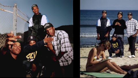 N.W.A. 1989 Malibu Photoshoot Story As Told By Photographer Timothy White | Volcom