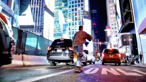NEW YORK CITY SKATE LIFE | Luis Mora