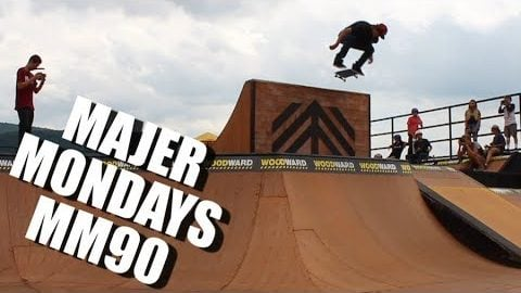 NEW YORK SKATEBOARDING and WOODWARD EAST Montage MM90 - MAJER Crew