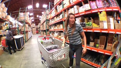 Nicole Hause raids the warehouse! | Bronson Speed Co.