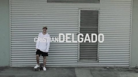 NOMAD SKATEBOARDS - INTRODUCING CRISTIAN DELGADO - Nomadskateboards