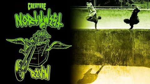 NORTHWEST REV'N with the Fiends on the road to Rip Ride Rally! | Creature Skateboards