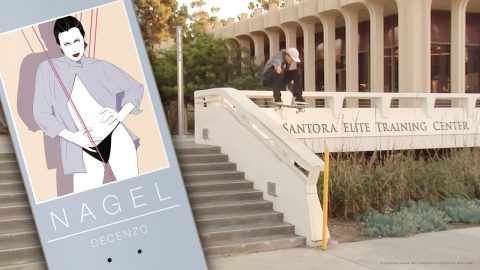 OFFICIAL DARKSTAR X NAGEL | RYAN DECENZO - Darkstar Skateboards