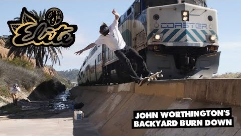 OJ Wheels | John Worthington's Backyard Burn Down | OJ Wheels