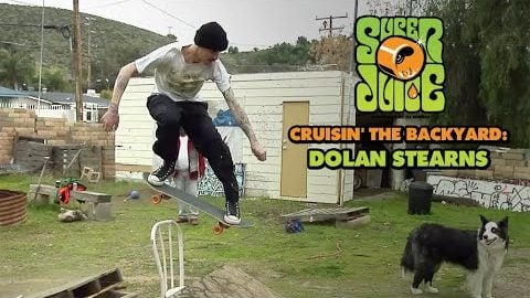 One Person's Trash... CRUISIN' with Dolan Stearns | OJ Wheels | OJ Wheels