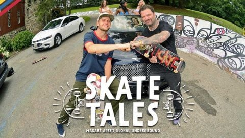 Party at Bam Margera's House | SKATE TALES Ep 1 | Red Bull Skateboarding