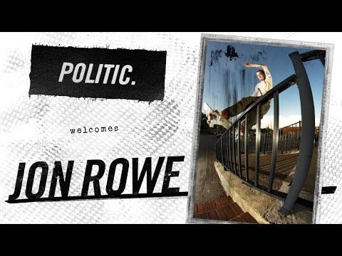 Politic Welcomes Jon Rowe - Politic Brand