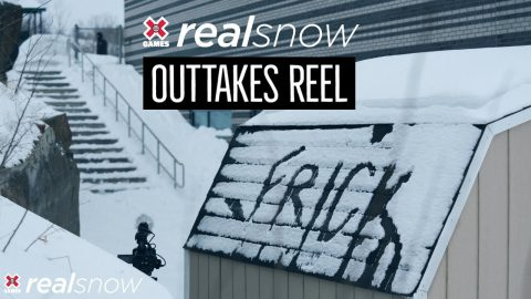 REAL SNOW 2020: Outtakes Reel | X Games | X Games