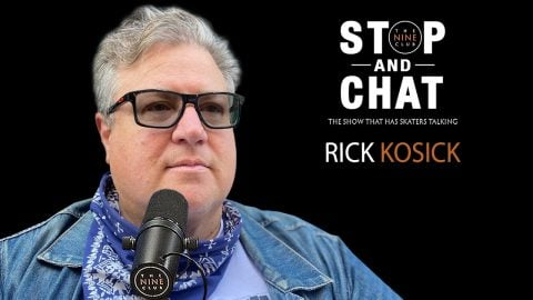 Rick Kosick - Stop And Chat | The Nine Club With Chris Roberts | The Nine Club