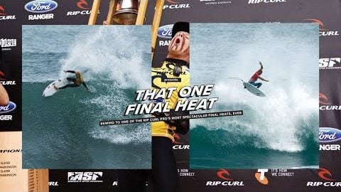 Rip Curl Presents: Mick, Kelly and the 2012 Rip Curl Pro Bells Beach Final | Rip Curl