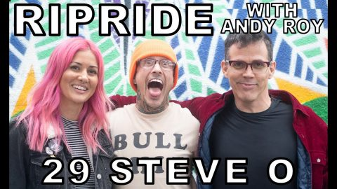 Ripride with Andy Roy Episode 29 with Steve O | Dear Andy