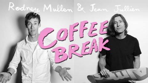 Rodney Mullen & Jean Jullien Coffee Break - Comfort vs Failure | Almost Skateboards - Almost Skateboards