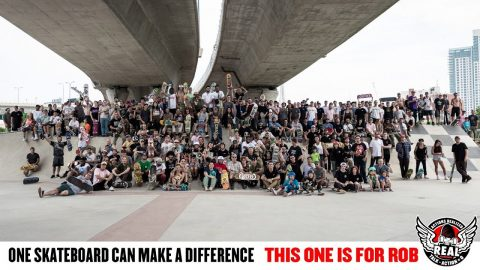 Roll For Rob Benefit #4 : Boston, MA with Jack Olson & Willy Lara - REAL Skateboards