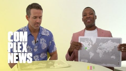 Ryan Reynolds Fails Geography Test For '6 Underground' | Complex News