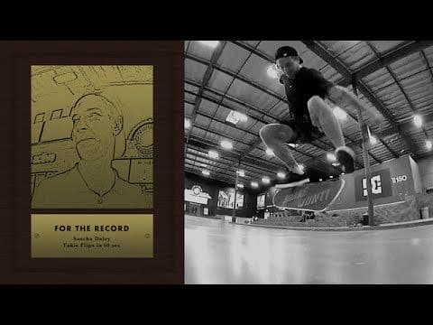 Sascha Daley - For The Record - The Berrics