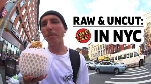 SC Team ripping NYC, FULL timeline | RAW & UNCUT | Santa Cruz Skateboards | Santa Cruz Skateboards
