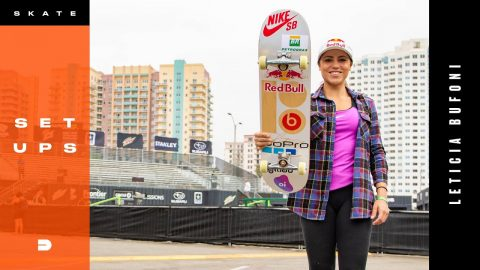 Setups: Leticia Bufoni's Skate Gear | Adventure Sports Network