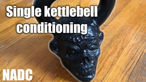 Single kettlebell Conditioning NADC | Neen Williams