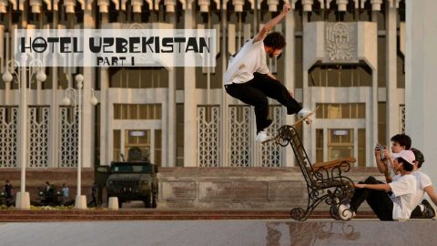 Skate Central Asia with Ethan Loy & Crew  |  HOTEL UZBEKISTAN PART 1 | Red Bull Skateboarding