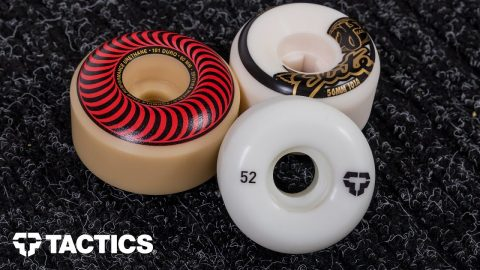 Skateboard Wheel Size | Skateboard Buying Guide - Tactics | Tactics Boardshop