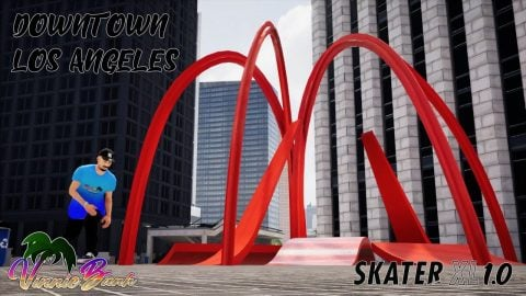 SKATER XL 1.0 - DOWNTOWN LOS ANGELES EDIT (REALISTIC) | Vinh Banh