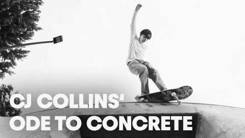 Skating Oregon's Finest Custom Parks /w CJ Collins.   Ode to Concrete   Red Bull