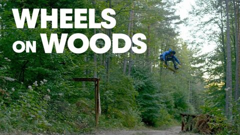 Skating Through A Forest with Gustavo Ribeiro, Ryan Decenzo & Friends |  WHEELS ON WOODS | Red Bull Skateboarding