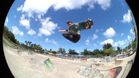 Skuff TV Skate | Crazy Skate Tricks | Z-Flex Team In Hawaii | Skuff TV - Action & Extreme Sports Channel