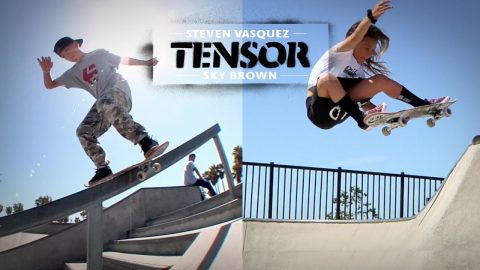 "Sky Brown and Steven Vasquez ""Mag Light Minute"" 