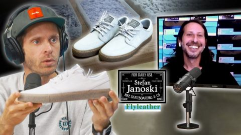 Stefan Janoski Talks About His New Nike Flyleather shoe!! | Nine Club Highlights