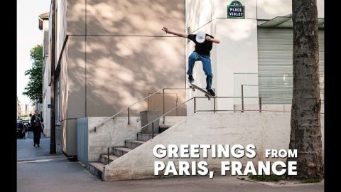 Step Inside The Modern Paris Skate Scene  |  GREETINGS FROM PARIS, FRANCE | Red Bull Skateboarding