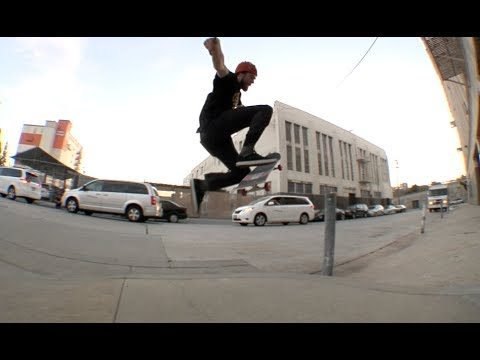 Steve Mull No Comply Curb Cut Over Pole Raw Uncut - E. Clavel