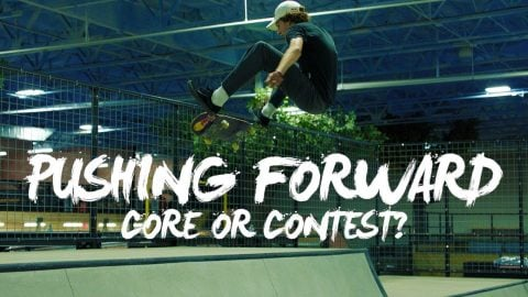 Street Skating or Contest Skating? | PUSHING FORWARD | Red Bull Skateboarding