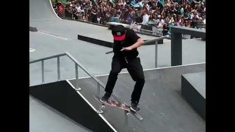 Sugar Skateboards - Zander Gabriel 6th Place FISE Montpellier, France - Sugar Skate Co.