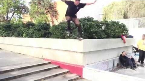 Sugar Skateboards - Zander Gabriel Kills the Courthouse Ledge! | Sugar Skate Co.