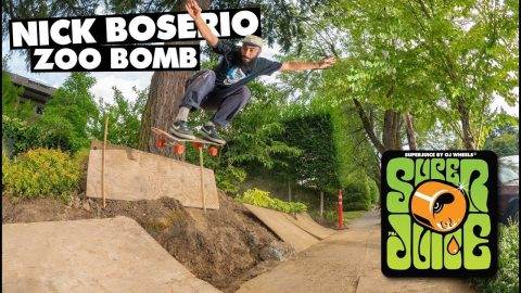 Super Juice / Nick Boserio's Zoo Bomb - OJ Wheels
