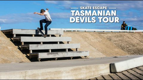 Tasmania Got Skate Spots?  |  SKATE ESCAPE | Red Bull Skateboarding