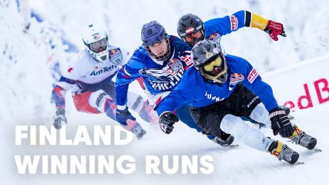 The Fastest Sport On Skates Hits Finland | Red Bull Crashed Ice | Red Bull