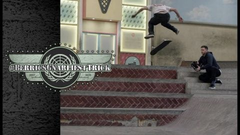 The Gnarliest Trick Ever At The Berrics WINNER: Yoshi Tanenbaum | Berrics Gnarliest Trick | The Berrics