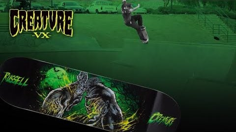 The Muscle Blaster to Disaster VX Deck Test | Creature Skateboards