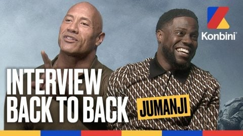 The Rock & Kevin Hart - L'interview Jumanji qui part en live | Konbini | Konbini