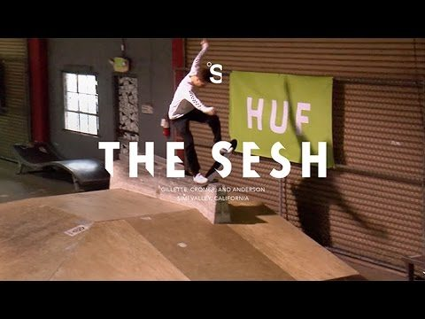 The Sesh: HUF at Skatelab - theskateboardmag