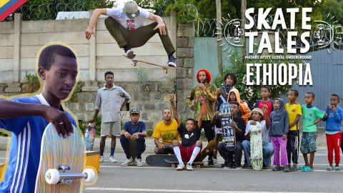 The Story Of Ethiopia's New Skate Scene  |  SKATE TALES Ep 4 | Red Bull Skateboarding