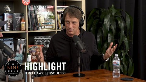 Tony Hawk Skated In The Whitehouse!!! | The Nine Club Highlights