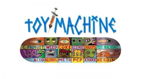 TOY MACHINE - COLLIN PROVOST DRUG CHART - Tum Yeto