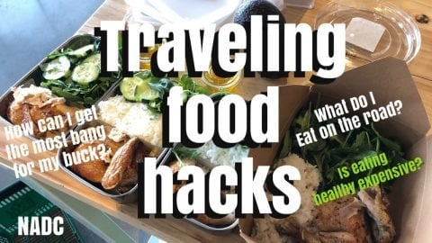 Traveling food hacks NADC Neenos Essentials | Neen Williams