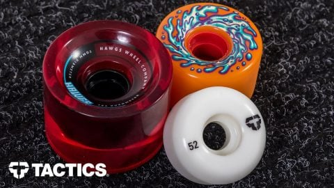 Types of Skateboard Wheels | Skateboard Buying Guide - Tactics | Tactics Boardshop